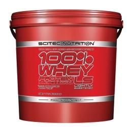 Proteine del Siero del Latte Scitec Nutrition, 100% Whey Protein Professional LS, 5000g.