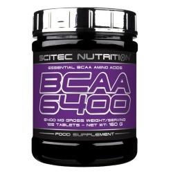 Scitec Nutrition, Bcaa 6400, 125tav.