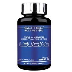 Leucina Scitec Nutrition, Leucine, 100cps.