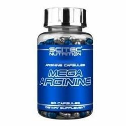 Scitec Nutrition, Mega Arginine, 90 cps.