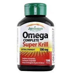 Omega 3 Jamieson, Omega Complete Pure Krill Oil, 100perle.