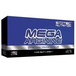 Arginina Scitec Nutrition, Mega Arginine, 120cps.