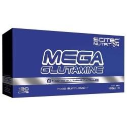 Scitec Nutrition, Mega Glutammina, 120 cps.