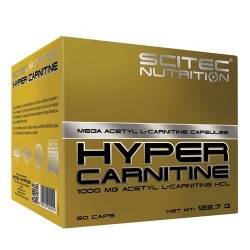 Scitec Nutrition, Hyper Carnitine, 90 cps.