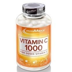 IronMaxx, Vitamin C 1000, 100 cps.