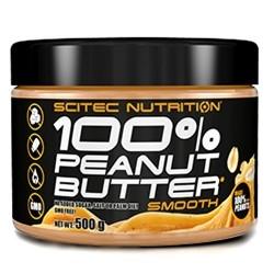 Creme alimentari Scitec Nutrition, 100% Peanut Butter, 500g.