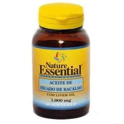 Omega 3 Nature Essential, Olio di fegato di merluzzo, 30cps.