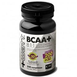 +Watt, BCAA+ 8:1:1, 200+50 cpr.