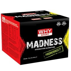 Pre Workout WHY Sport, Madness, 60bustine