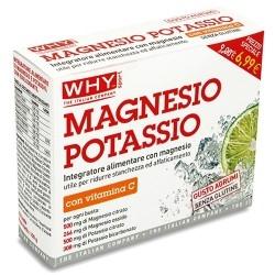 Vitamine e Minerali WHY Sport, Magnesio Potassio, 10bustine