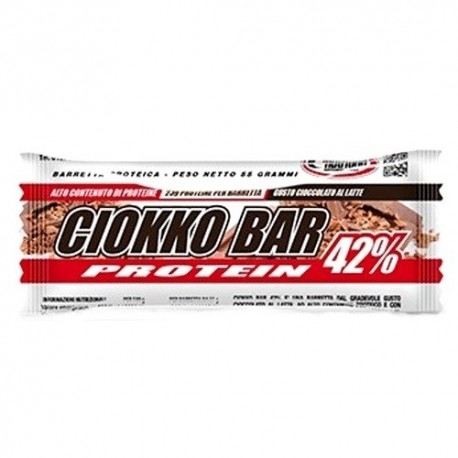 Barrette proteiche Pro Nutrition, Ciokko Bar 42%, 55 g
