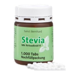 Dolcificanti Sanct Bernhard, Stevia tabs, 1000 cpr.