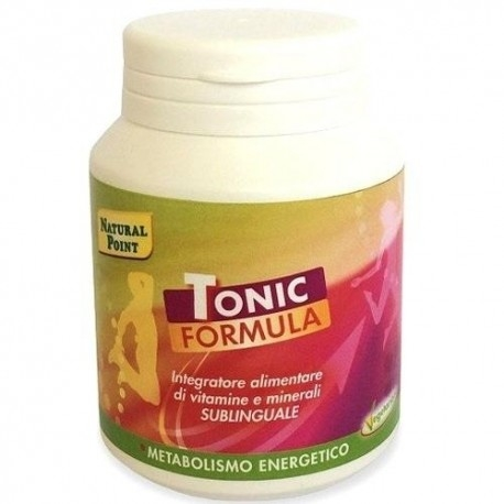 Tonici - Energizzanti Natural Point, Tonic Formula, 100g (Sc.04/19)