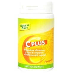 Vitamina C Natural Point, C Plus, 70 cps. (Sc.04/19)