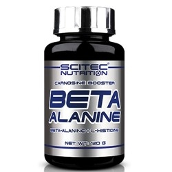 Beta alanina Scitec Nutrition, Beta Alanine, 120 g.