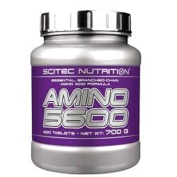 Pool di Aminoacidi Scitec Nutrition, Amino 5600, 500cpr.