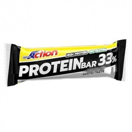 Barrette proteiche Proaction Promuscle, Protein Bar 33%, 1pz da 50g.