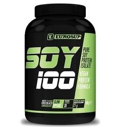 Proteine di Soia Eurosup, Soy 100, 900g.
