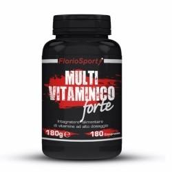 Multivitaminici - Multiminerali FlorioSport, Multi Vitaminico Forte, 180 cpr.