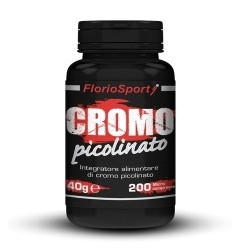 FlorioSport, Cromo Picolinato, 200 cpr.