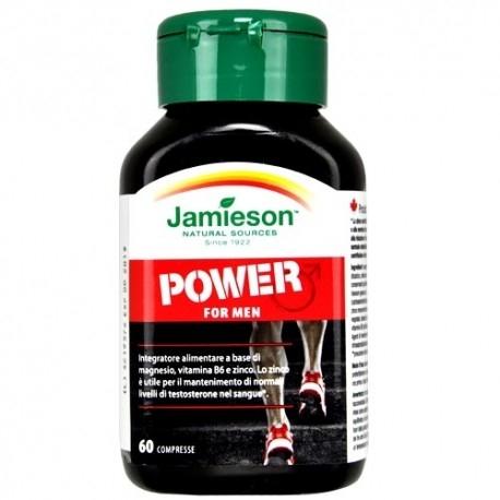 Tonici - Energizzanti Jamieson, Power for Men, 60cpr.