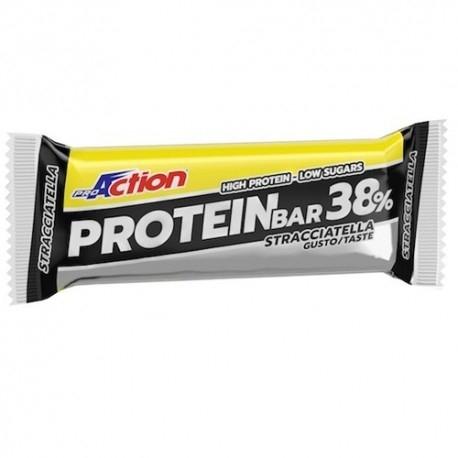 Barrette proteiche Proaction Promuscle, Protein Bar 38%, 1pz. da 80g