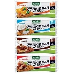 Pasti e Snack Proteici WHY Nature, Cookie Bar 40 30 30, 31 g.