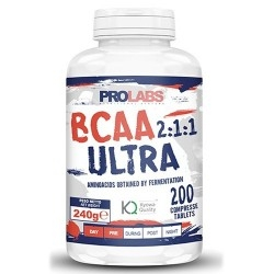 Aminoacidi Ramificati (Bcaa) Prolabs, Bcaa Ultra 2:1:1, 200cpr.
