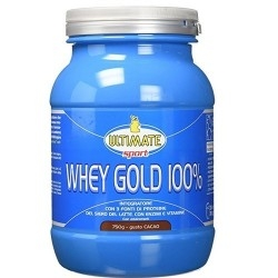 Ultimate Italia, Whey Gold 100%, 750 g.
