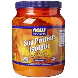 Proteine di Soia Now Foods, Soy Protein Isolate, 544 g