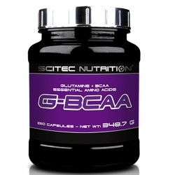 Scitec Nutrition, G-Bcaa, 250 cps.