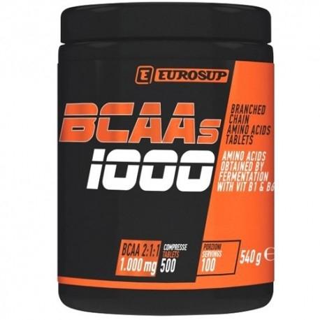 Eurosup, BCAAs, 500 Cpr.