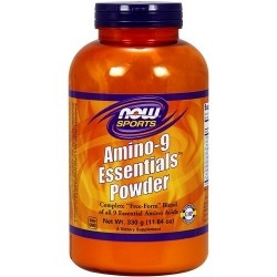 Aminoacidi essenziali Now Foods, Amino-9 Essentials Powder, 330 g. (Sc.01/2019)