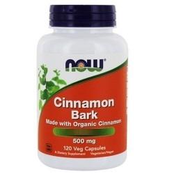 Regolarità intestinale Now Foods, Cinnamon Bark, 120 cps.