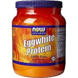 Now Foods, Eggwhite Protein, 544 g