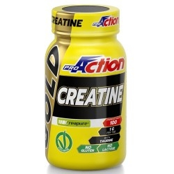Creatina Proaction Promuscle, Creatine Gold, 100Cpr.