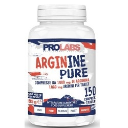 Arginina Prolabs, Arginine Pure, 150cpr.