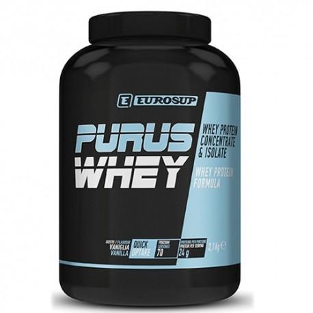 Proteine del Siero del Latte Eurosup, Purus Whey, 2100 g.