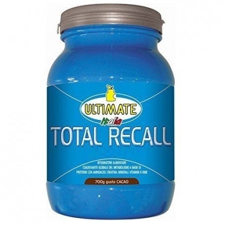 Pre Workout Ultimate Italia, Total Recall, 700 g (Sc.02/2019)