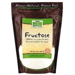 Fruttosio Now Foods, Fructose, 680 g.