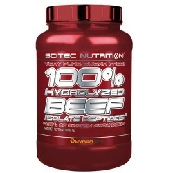 Proteine della carne Scitec Nutrition, 100% Hydrolyzed Beef isolate peptides, 900 g.