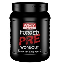 Pre Workout WHY Sport, Forged Pre Workout, 300 g.