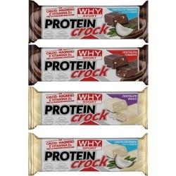 Barrette proteiche WHY Sport, Protein Crock, 24 pz da 55 g.