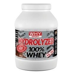 Proteine del Siero del Latte WHY Sport, Hydrolyzed 100% Whey, 750 g.