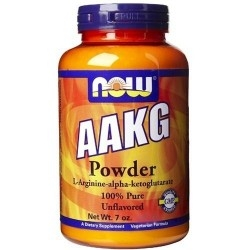 Arginina Now Foods, AAKG Powder, 198 g (Sc.10/2018)