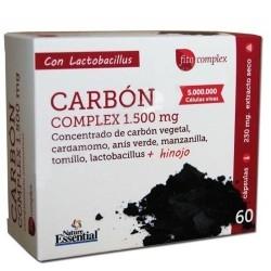 Funzionalità digestiva Nature Essential, Carbone vegetale, Blister da 60 cps.