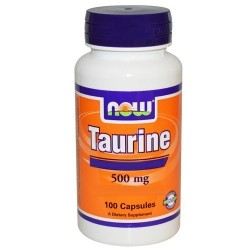 Taurina Now Foods, Taurine, 100Cps. (Sc.05/2019)