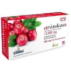 Mirtillo rosso (Cranberry) Nature Essential, Arandano Rojo, Blister da 30 cps.