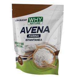 Avena WHY Nature, Avena farina istantanea, 1000 g.