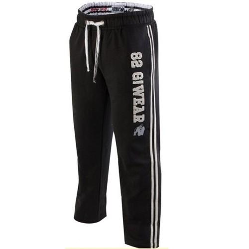 Gorilla Wear, 82 Sweat Pants, nero nero nero Pantalone sportivo cb5da9